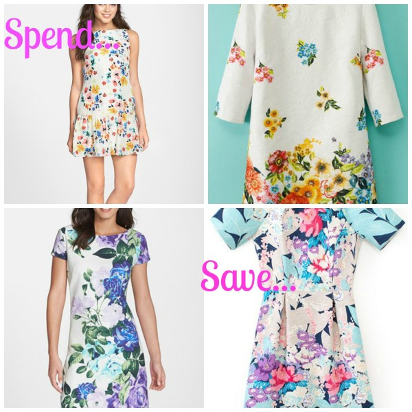 spend save floral