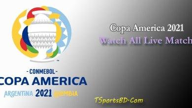 Copa America 2021 Live Match