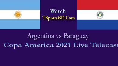 Argentina vs Paraguay Live