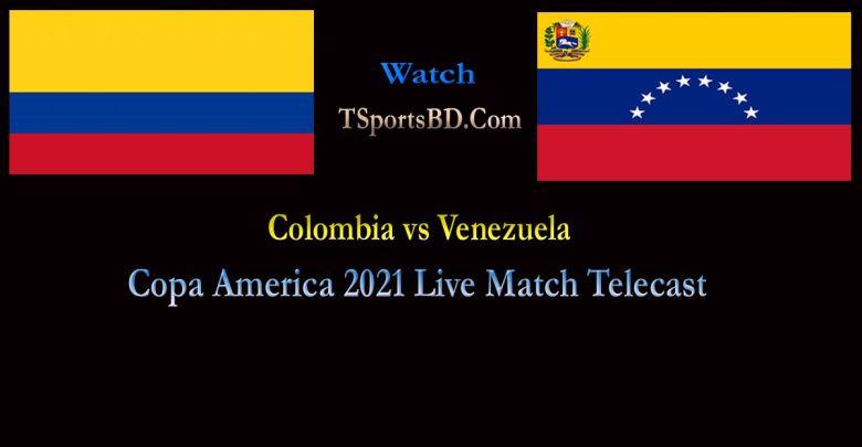 Colombia vs Venezuela Live Match