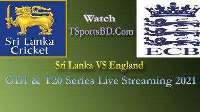 England v Sri Lanka Live 2021