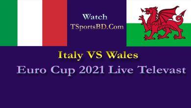 Italy vs Wales Live 2021