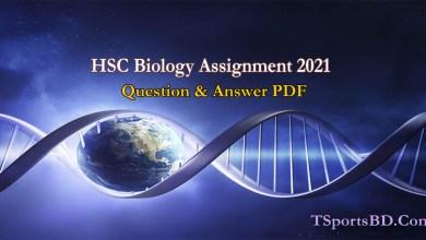 HSC Biology Assignment 2021