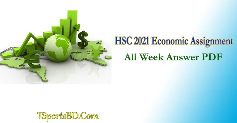 HSC Economic 2021