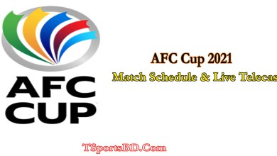 AFC Cup 2021 Match Schedule And Live Streaming Telecast Bangladesh Time