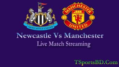 Manchester United Vs Newcastle United Live