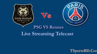 PSG vs Rennes Live