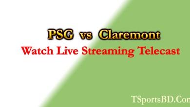 PSG vs Claremont Live