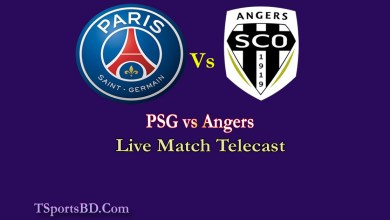 PSG vs Angers Live