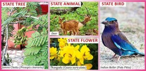 List of all Telangana State Official symbols