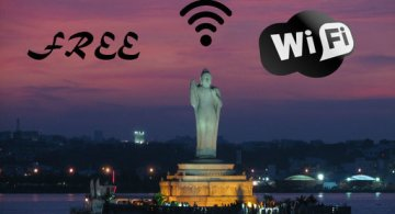 Free WiFi zones in Telangana