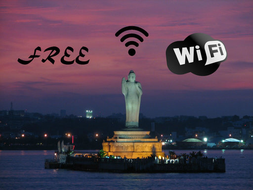 Free Wifi Zones in Hyderabad – Telangana State