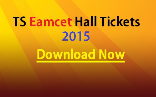 Download TS Eamcet Halltickets 2015 – Available Now