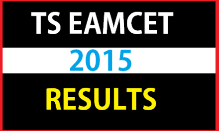 TS Eamcet 2015 Results – Available Now