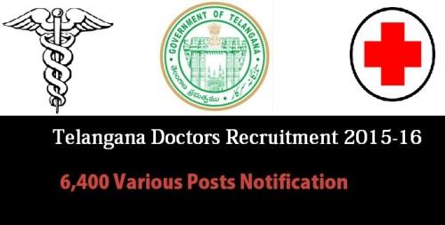 Telangana Non-Cadre Doctors Posts