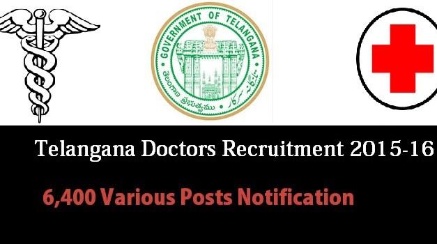 Telangana 6,400 Medical Posts Notification – New Updates