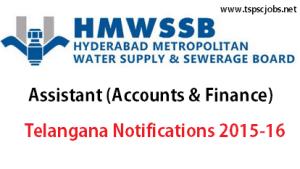 HMWSSB-Assistant Exam 2015