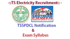 tsspdcl notification recruitment