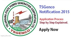 TsGenco Application Process Tutorial
