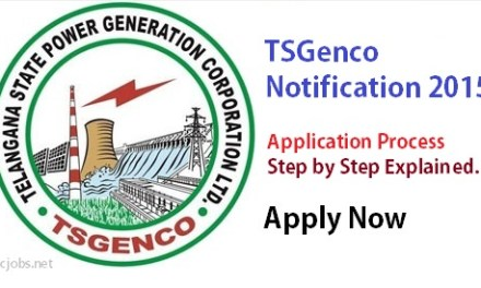 Telangana TSGenco Recruitment Application Process – How to Apply