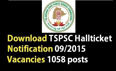 Download TSPSC Assistant Engineers AE Halltickets Admitcards 2015