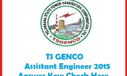Telangana TSGenco Results 2015 – Recruitment Updates