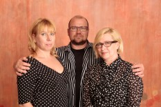 Taru, Jorma ja Hilkka Stenberg