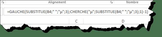 Comment extraire les X premiers mots d'un texte dans Excel?