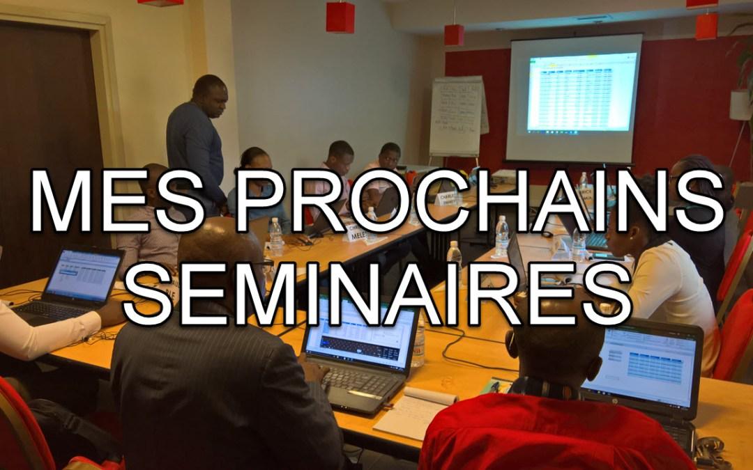 Douala, Abidjan…voici pourquoi vous ne devez pas rater mes prochains séminaire