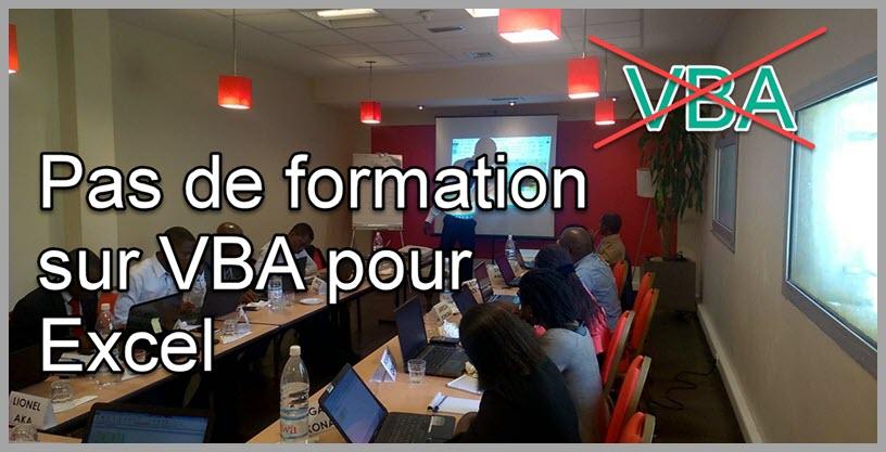 Voici pourquoi je n'offre pas de formation sur les macros, VBA