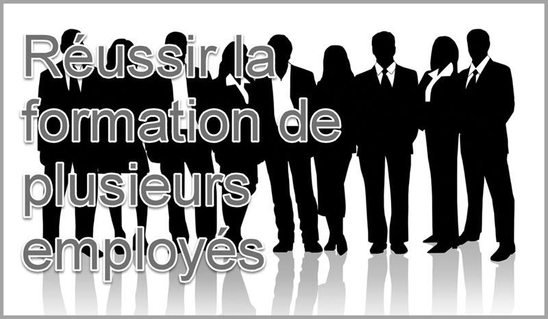 Comment réussir la formation d'un grand groupe d'employé en répondant aux besoins de la hiérarchie?