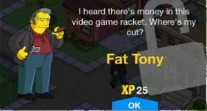 level 28 character unlock fat tony