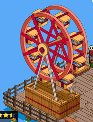 TSTO Squidport Ferriswheel