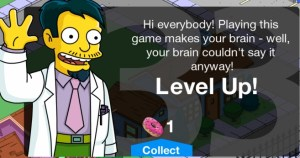 thesimpsonstappedoutlevel33levelup