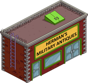TSTO level30 herman militart antiques