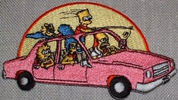Simpsons Car Patch