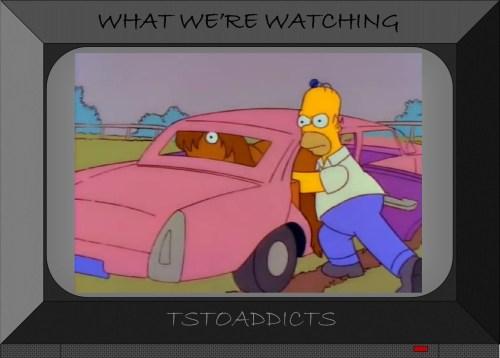 Simpsons Car Pony