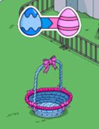 Blue Neighbor Basket