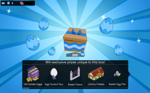 BLue Player Easter Box