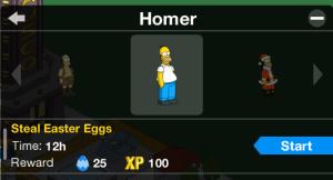 Blue Player Homer