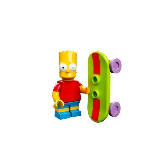 LEGO 71005_1to1_Bart Simpson