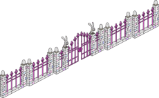 Easter gate and fence