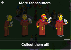 Character Group Stonecutters 85 & 600