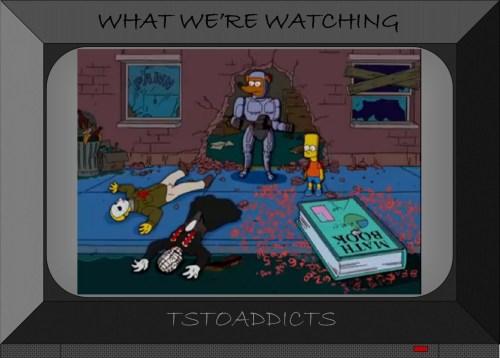 Horror Simpsons Jason & Pinhead