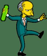 Mr Burns dispose of waste