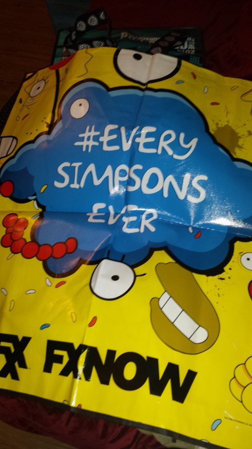 SDCC 2014 Simpsons Swag Bag