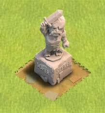 CoC Mighty Statue