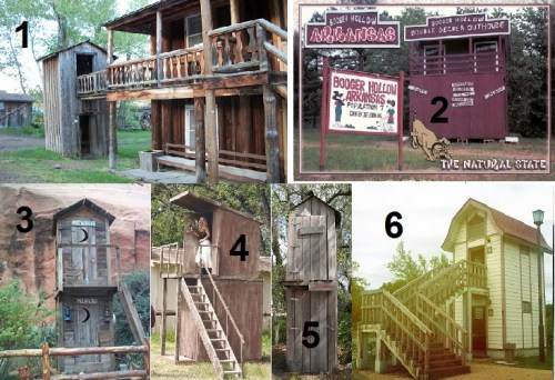 World's First Two-Story Outhouse
