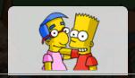 Bart & Milhouse Tab