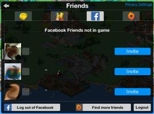 Facebook Neighbor Screen